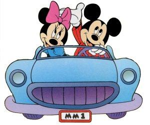 Mickey en minnie mouse plaatje
